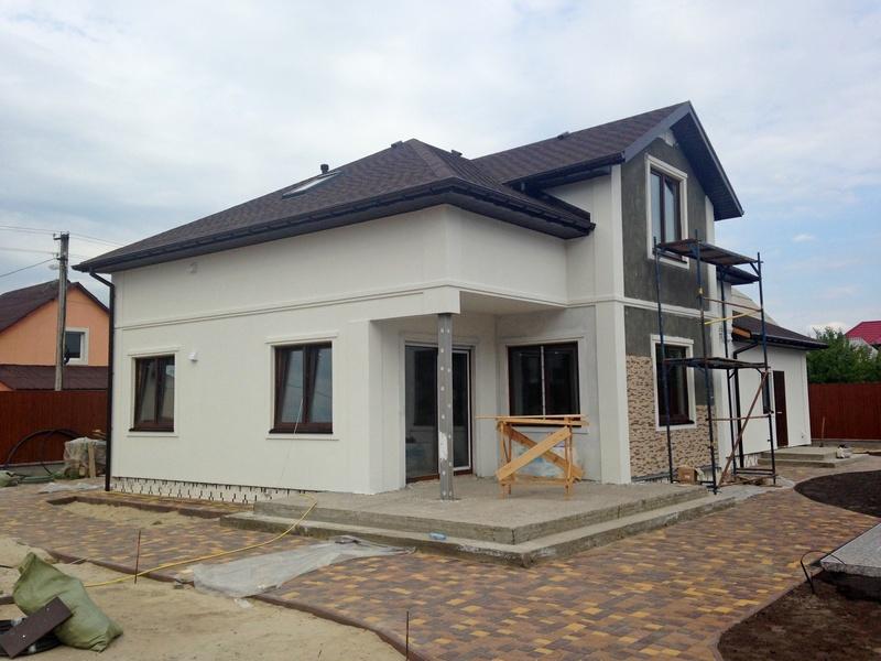 Фотография двухэтажного дома для большой семьи, 242 м2