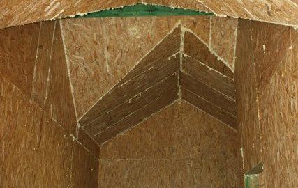 Потолок в каридоре