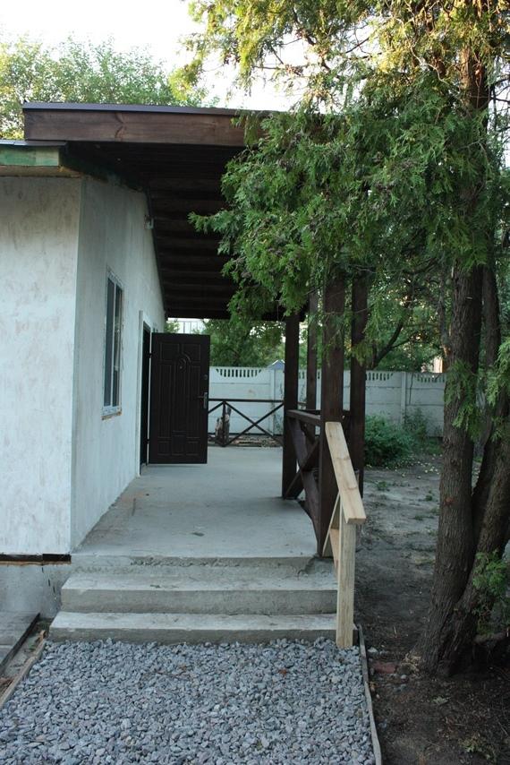 Вход на террасу