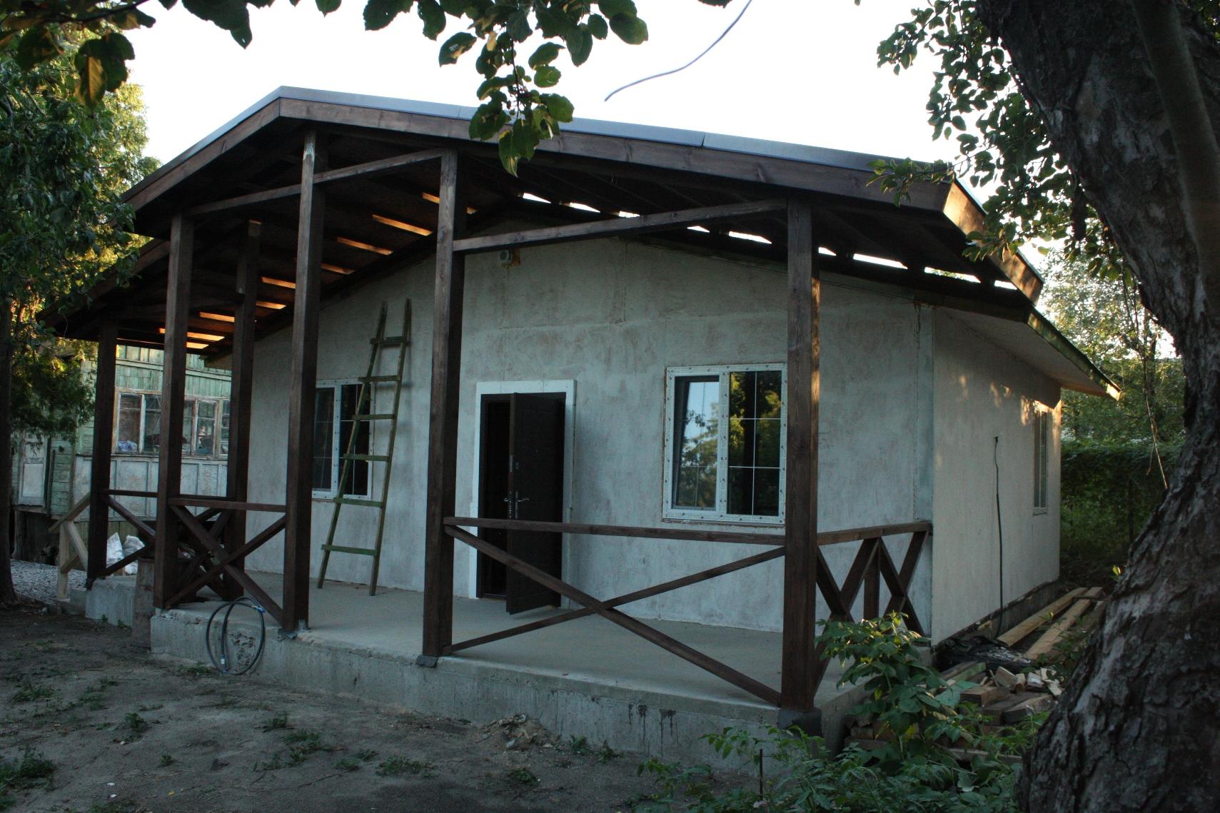Дом с террасой 60м2